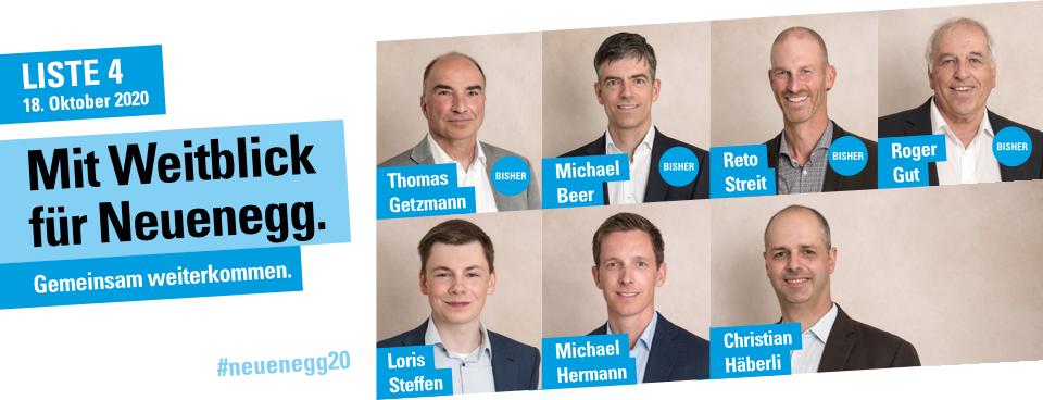 Mit Weitblick für Neuenegg – Gemeindewahlen 2020